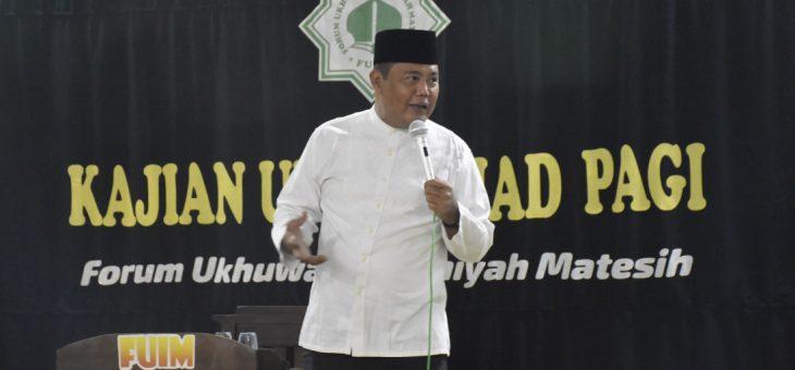 Kajian Umum Ahad Pagi Di Masjid Al-Ikhlas Desa Sabrangkulon Matesih