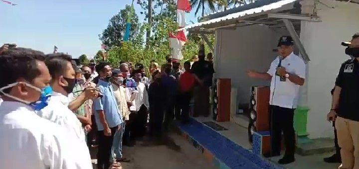 Bupati Haturkan Panuwun, Gotong Royong Masyarakat dan TNI Wujudkan Betonisasi Jalan