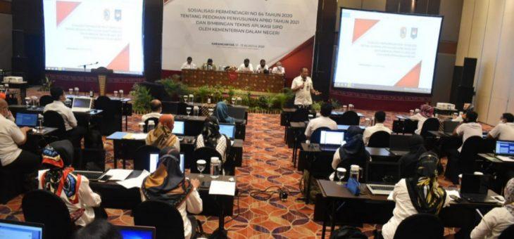 Sosialisasi Permendagri No 64 Tahun 2020 Dan Bintek Aplikasi SIPD