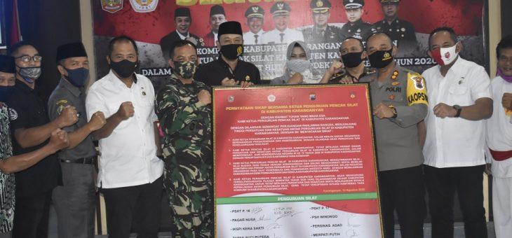 Silaturahmi Forkopimda dengan Ketua Perguruan Pencak Silat se-Kabupaten Karanganyar