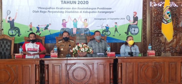 Musyawarah Olah Raga Kabupaten (Musorkab) Tahun 2020