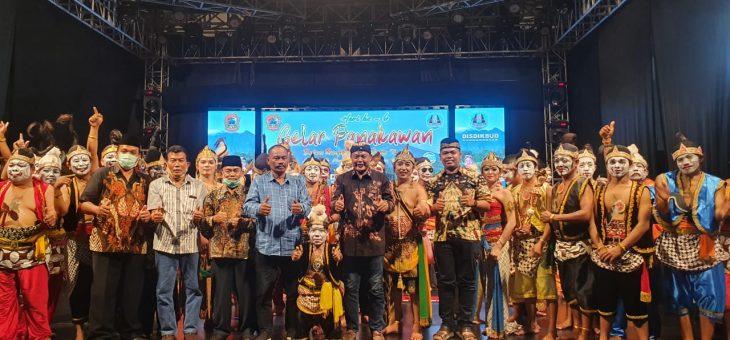 SEKAR Korwil Tawangmangu Sabet Gelar Penampil Terbaik Di Festival Gelar Punokawan Grebeg Lawu 2020