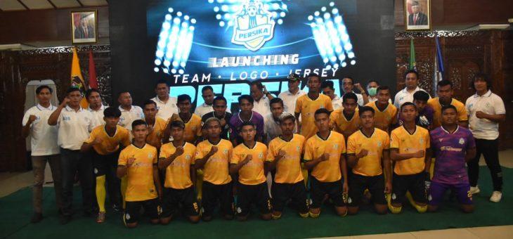 Launching Logo Baru Persika, Bupati Berharap Jadi Momentum Kebangkitan Sepakbola Karanganyar