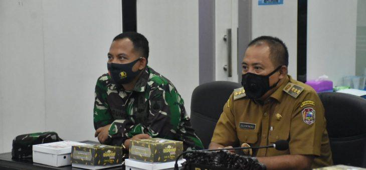 Rapat Evaluasi Operasi Gabungan Yustisi Penegakan Protokol Kesehatan Covid-19 Dan Pelaksanaan Tahapan Pilkada Langsung 2020 Di Jawa Tengah