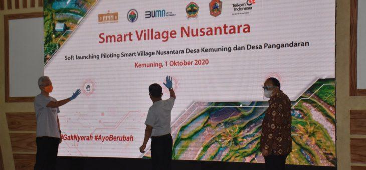 """Smart Village Nusantara"" Desa Kemuning Siap Bersaing Di Era Digital"