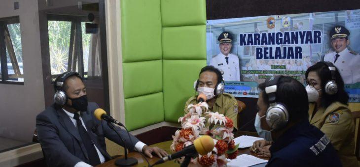 Kabupaten Karanganyar Launching Program Karanganyar Belajar