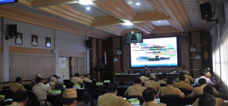Rapat Koordinasi Pengendalian Operasional Kegiatan Triwulan III Tahun 2020