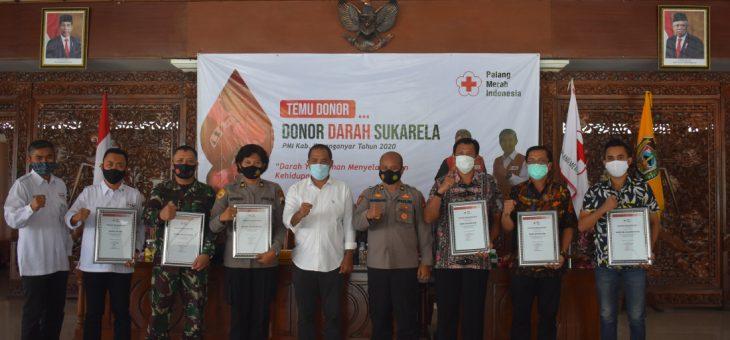 Temu Donor Darah Sukarelawan dan Penggerak Donor Darah