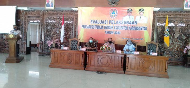Evaluasi Pelaksanaan Pengarusutamaan Gender Kabupaten Karanganyar