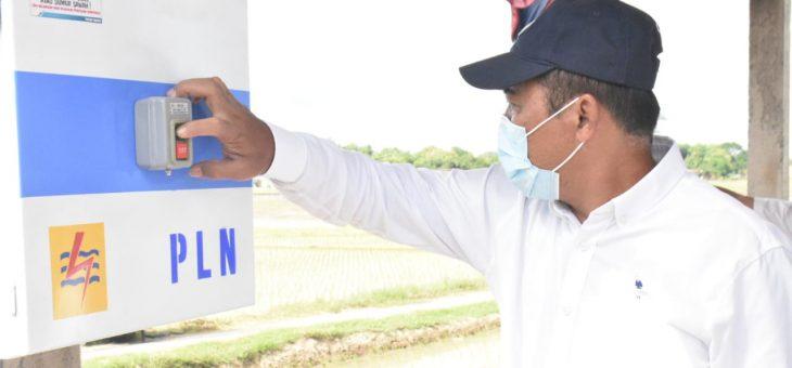 Petani Lega, Pemkab Dan PLN Bantu Irigasi Persawahaan Menggunakan Listrik