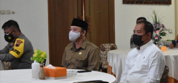 Rakor Jelang Ramadhan Bersama Gubernur Jateng Secara Virtual