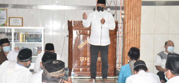 Bupati Bolehkan Sholet Ied di Lapangan Atau Masjid dengan Kapasitas 50 Persen