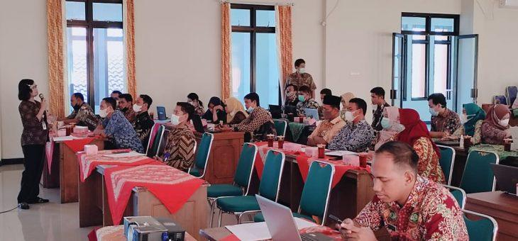 Wujudkan Kabupaten menuju Informatif, Tim Utama PPID Kabupaten Lakukan Monev PPID Pembantu Kecamatan dan Desa